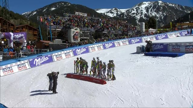 Soldeu (AND), team event, finale: Daniel Yule donne la victoire à la Suisse au temps! [RTS]