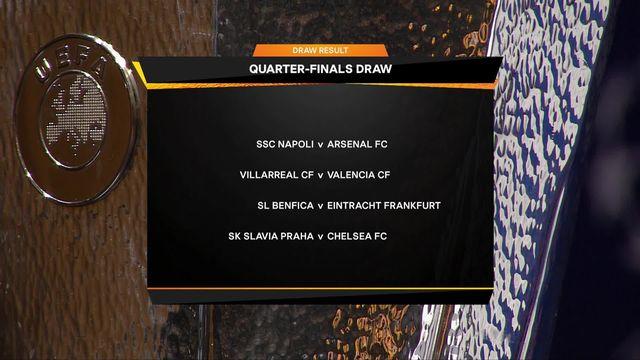 Tirage au sort: Naples affrontera Arsenal en 1-4 de finale [RTS]