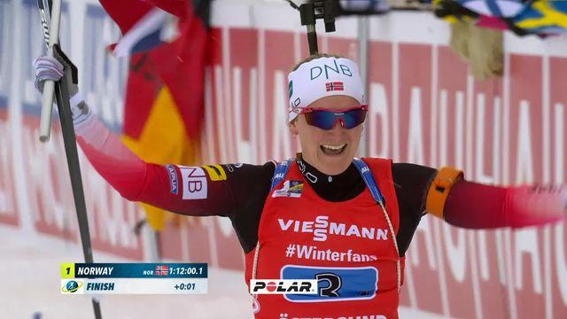 Ostersund (SUE), relais dames: victoire de la Norvège devant la Suède et l'Ukraine [RTS]