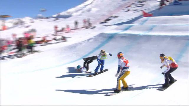 Snowboardcross, finale dames : Samkova (CZE) remporte le général avec maîtrise [RTS]