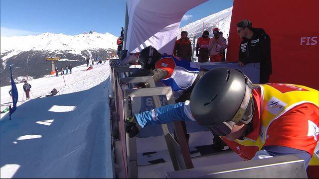 Snowboardcross, petite finale messieurs: meilleur Suisse, Koblet termine 7e [RTS]