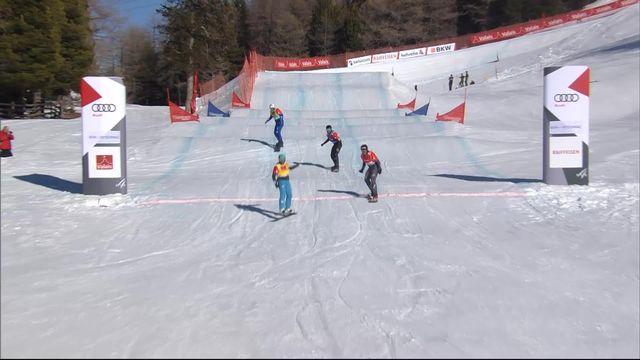 Snowboardcross, finale messieurs: Eguibar (ESP) s'impose mais le titre revient à Haemmerle (AUT) [RTS]