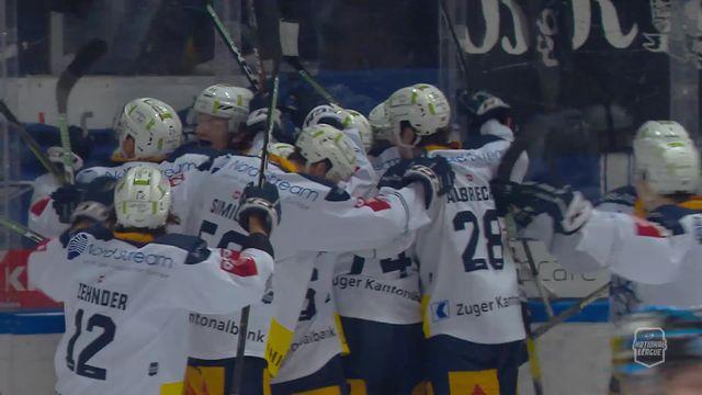 Acte IV, Lugano - Zoug (4-5ap): le résumé du match [RTS]