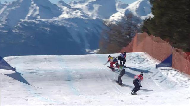 Snowboardcross: finales dames et messieurs [RTS]