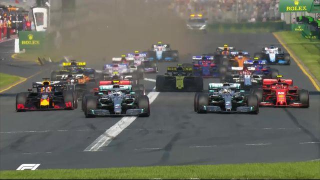 GP d'Australie (#1): Bottas (FIN) prend la tête dès le départ [RTS]