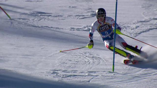 Soldeu (AND), slalom messieurs, 1re manche: Noël (FRA) remporte la 1re amnche [RTS]