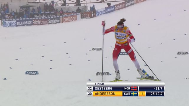 Falun (SUE), 10km dames: victoire de Johaug (NOR) [RTS]