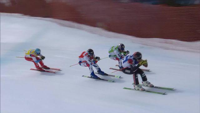 Skicross, finale: la victoire pour Chapuis (FRA), Detraz (SUI) termine 4e [RTS]