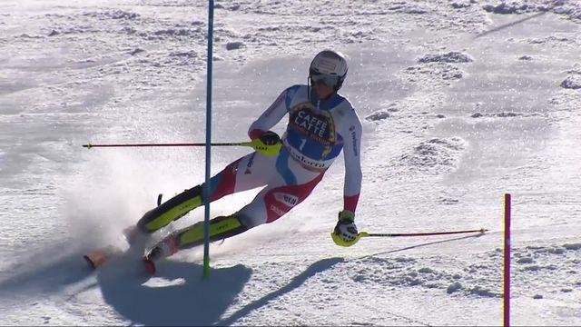 Soldeu (AND), slalom messieurs, 2e manche: Ramon Zenhaeusern (SUI) [RTS]