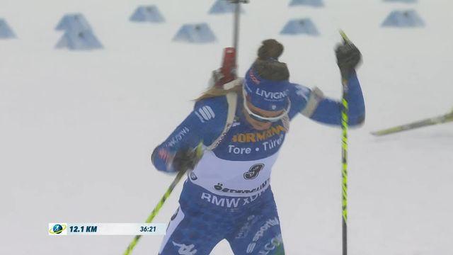 Ostersund (SUE), départ en ligne dames: victoire de Dorothea Wierer (ITA) [RTS]