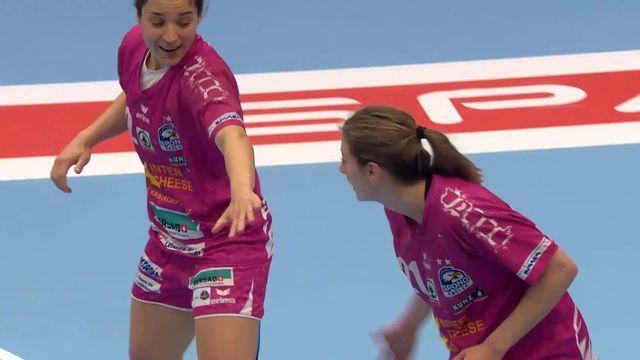 Finale dames, Spono Eagles - Rotweiss Thoune 27-25: les meilleurs moments de la rencontre [RTS]