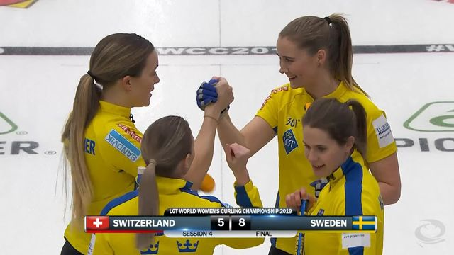 Match 4, Suisse - Suède 5-8: défaite des Suissesses face aux Suédoises [RTS]