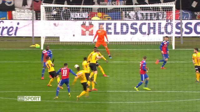 Football, Super League: Bâle - Young Boys (2-2) [RTS]