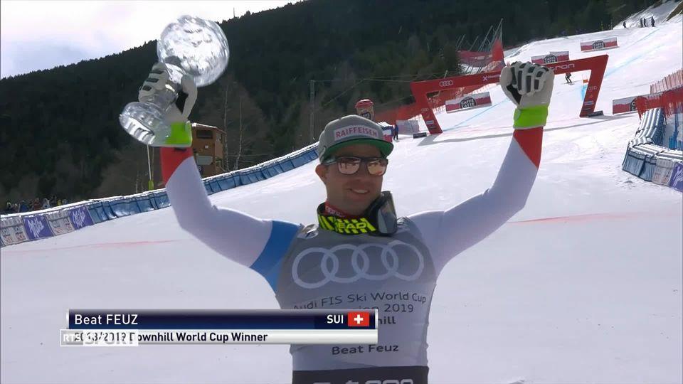 Ski: Beat Feuz, l'homme de la saison [RTS]