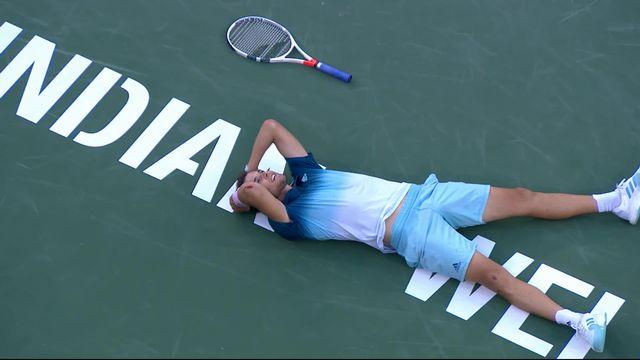 Finale, D. Thiem (AUT) - R. Federer (SUI) 6-3 3-6 5-7: les meilleures points de la rencontre [RTS]