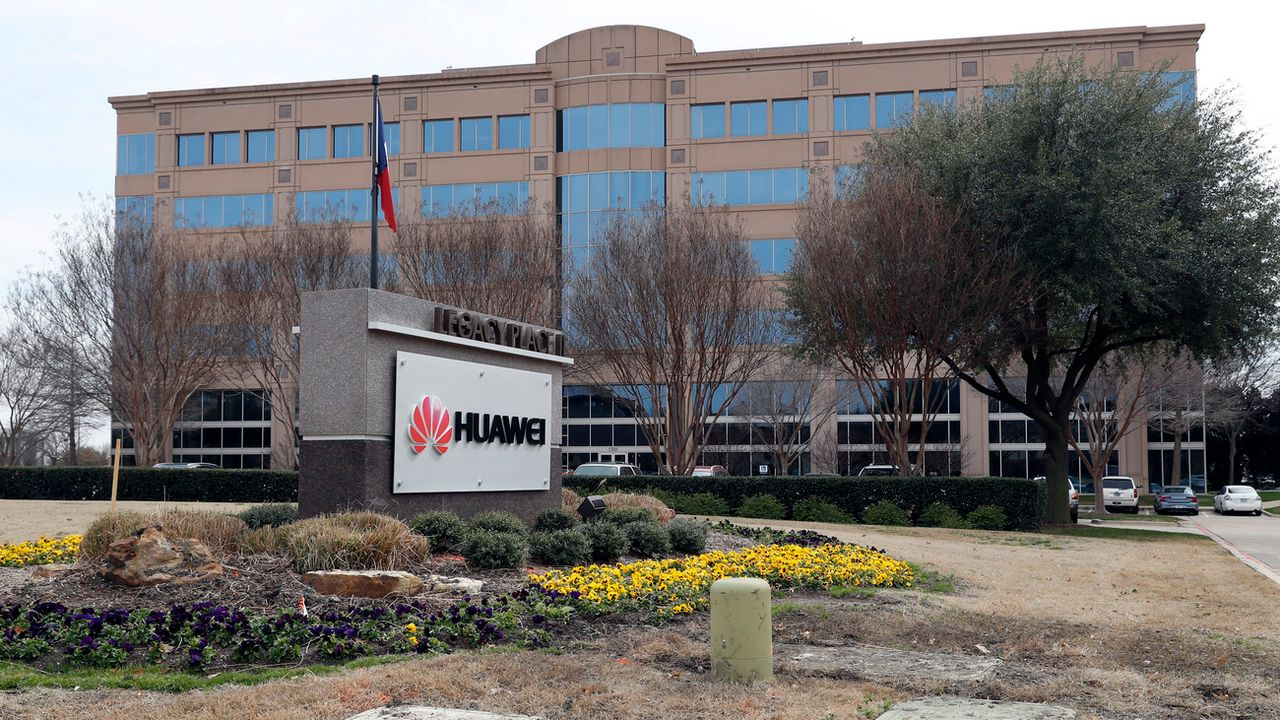 Le siège de Huawei à Plano au Texas. [AP Photo/Tony Gutierrez - Keystone]