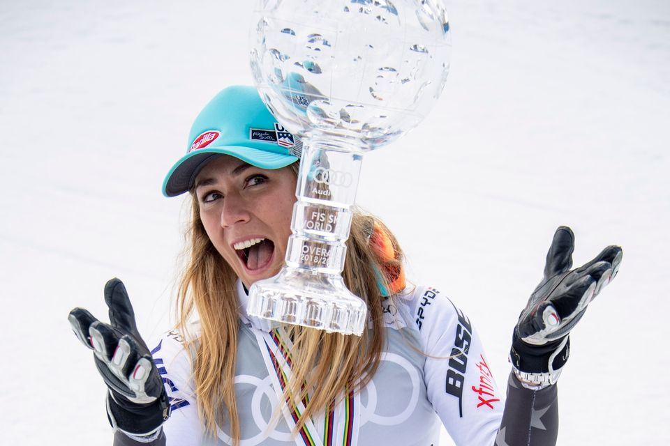 Mikaela Shiffrin a touché le pactole en 2019. [Christian Bruna - Keystone]