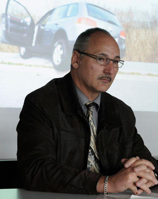 Markus Jungo, directeur de la plateforme de coordination police-sport. [Lukas Lehmann - Keystone]