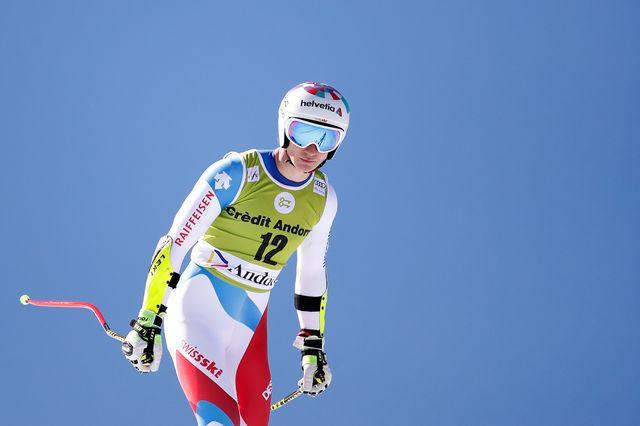 Marco Odermatt ne pourra pas participer aux championnats suisses organisés à Hoch-Ybrig. [Christian Hartmann - Reuters]