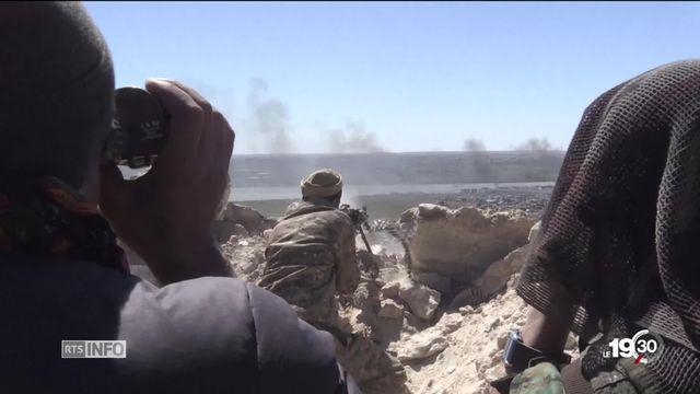La bataille de Baghouz en Syrie touche à sa fin. Le dernier bastion du groupe Etat islamique est sur le point de tomber. [RTS]