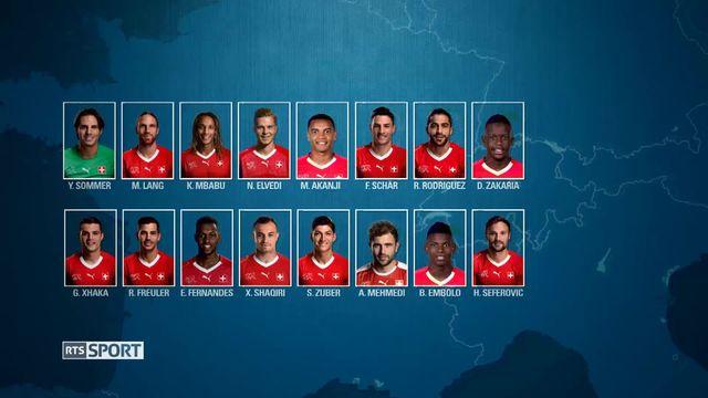 Football: l'équipe de Suisse [RTS]