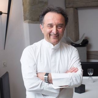 Carlo Crisci, chef doublement étoilé du Cerf à Cossonay (VD). [DR]