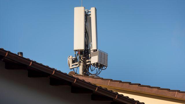Les Verts vaudois demandent un moratoire sur la technologie 5G. [Christian Beutler - Keystone]