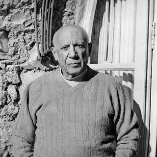 Portrait de Pablo Picasso en 1968. [AFP]