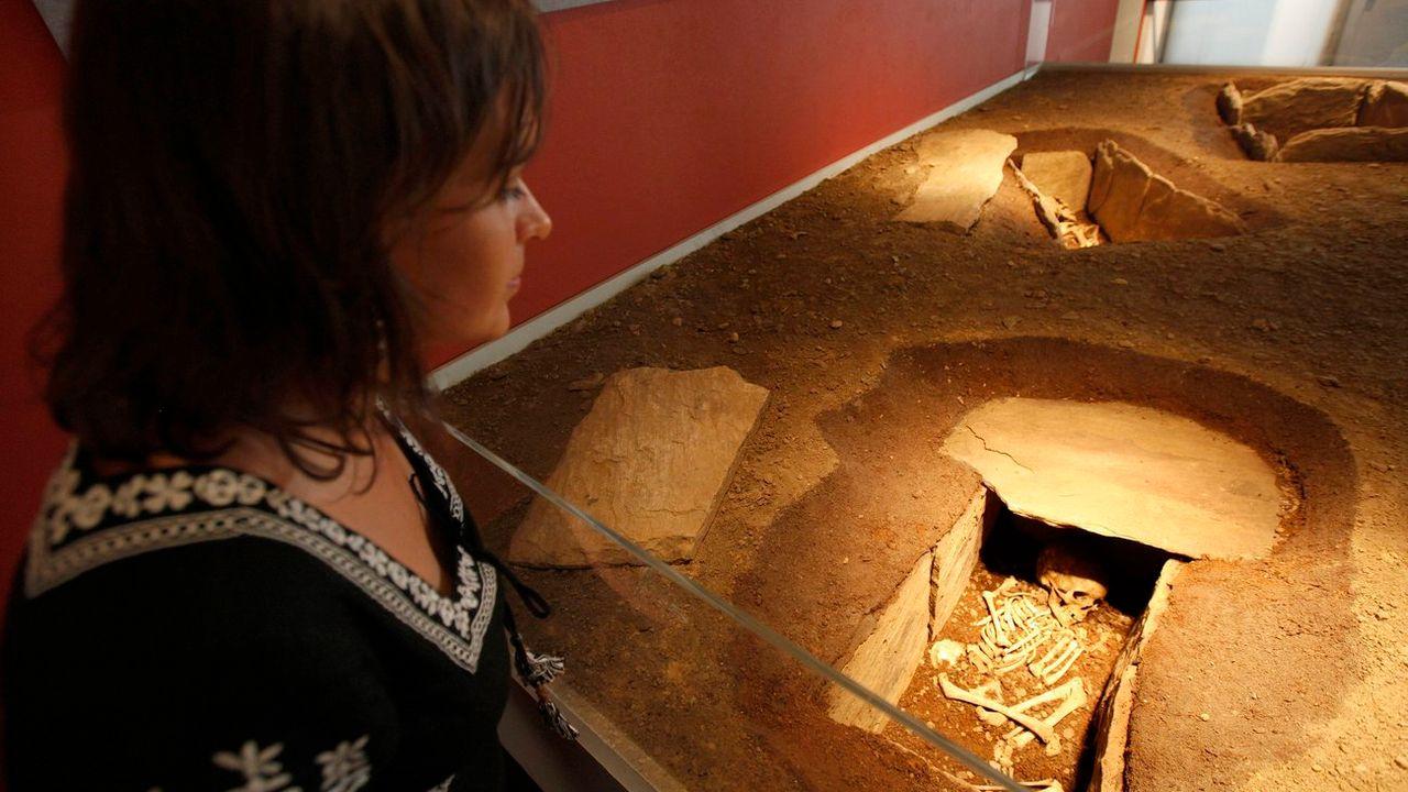 Le Valais pourrait bientôt se doter d'un musée cantonal d'archéologie. [Jean-Christophe Bott - Keystone]