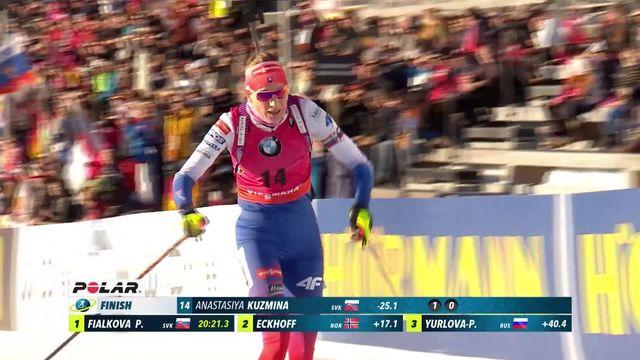 Holmenkollen (NOR), sprint dames: nouvelle victoire pour la Slovaque Anastasiya Kuzmina [RTS]