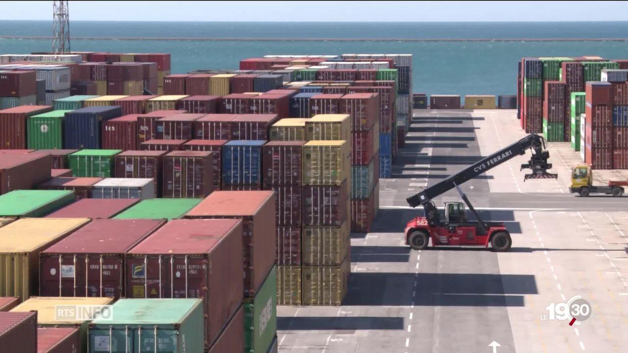 Xi Jinping entame une tournée européenne. C'est surtout l'accès maritime au continent qui aiguise l'appétit de Pékin. [RTS]