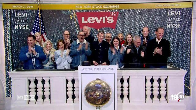 Levi's revient en bourse 34 ans après avoir claqué la porte de Wallstreet. [RTS]