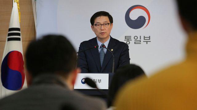 La Corée du Sud a exprimé ses regrets après la décision de Pyongyang de se retire du bureau intercoréen. [Ahn Young-joon - AP Photo/keystone]