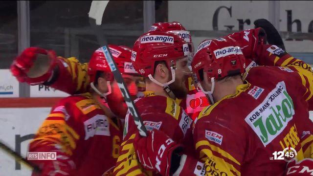 Hockey sur glace: Genève-Servette et Lausanne s'inclinent [RTS]