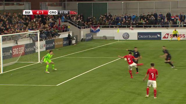 U21, Suisse – Croatie (4-1): tous les buts du match [RTS]