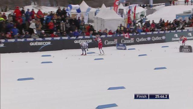 Québec (CAN), 10km dames: victoire de Nilsson (SUE) [RTS]