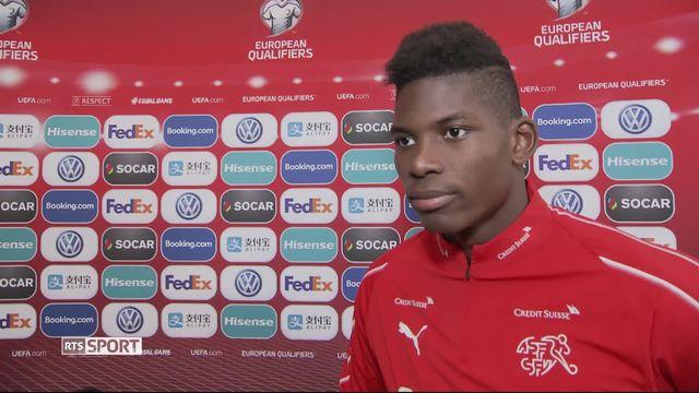Gr.B, Géorgie - Suisse (0-2): Embolo a l'interview après la victoire [RTS]
