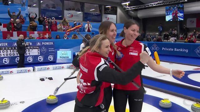 Suisse - Corée du Sud (5-3) : Les Suissesses joueront la finale [RTS]