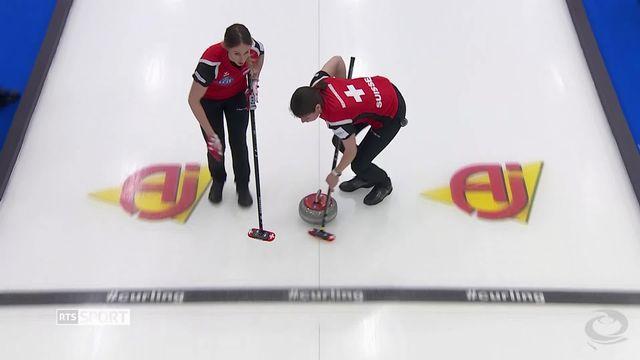 Curling: Suisse - Corée du Sud (5-3) [RTS]