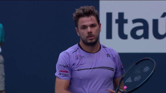 Tennis, ATP Miami: éliminations de Wawrinka [RTS]