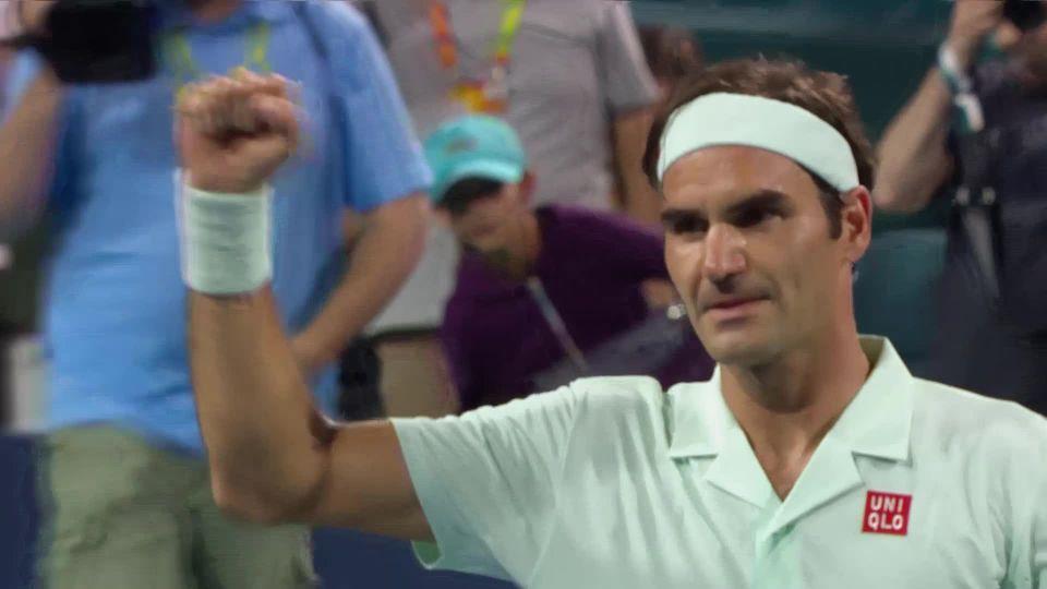 ATP Miami, 1-32e, Albot (MDA) - Federer (SUI) ( 6-4, 7-5, 6-3) [RTS]