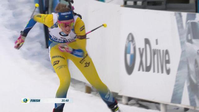 Holmenkollen (NOR), 10 km dames: victoire d'Oeberg (SUE) [RTS]