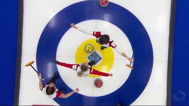 Finale, Suisse - Suède (8-7): titre mondial pour les Suissesses ! [RTS]