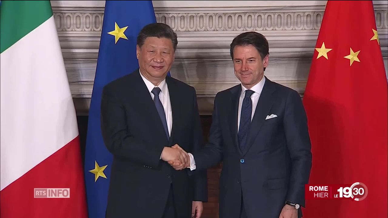 Xi Jinping poursuit son voyage officiel, à la conquête de l'Europe [RTS]