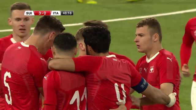 M21, Suisse - Italie (3-0): les buts de la rencontre [RTS]