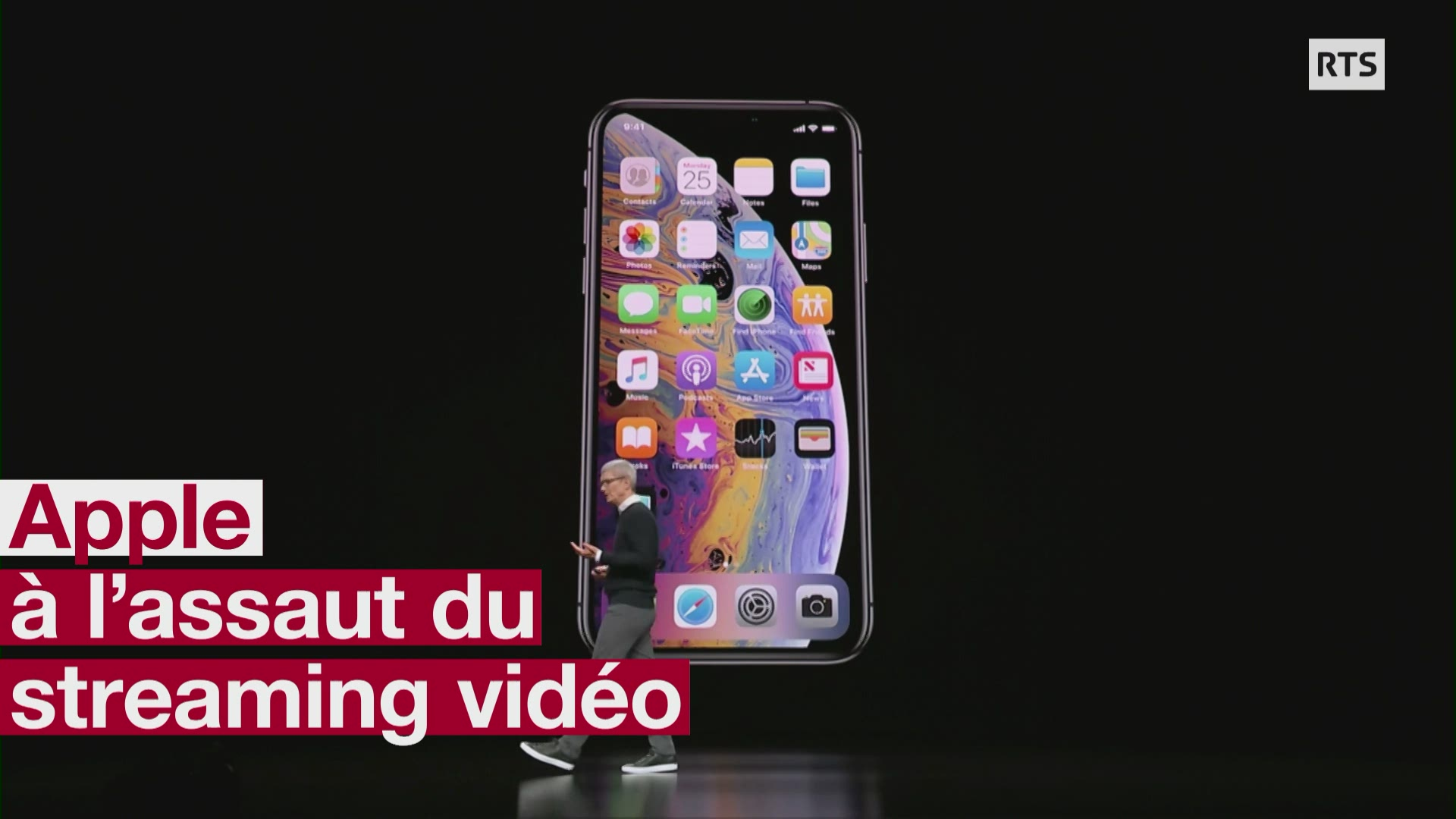 Apple a lassaut du streaming video