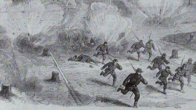 Le siège de Paris par les Prussiens, 1870. [RTS]