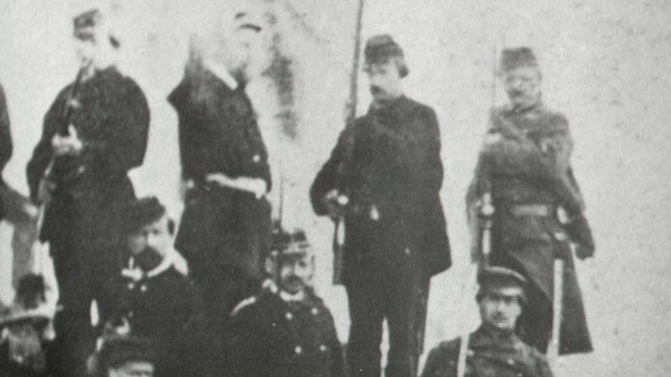 Communards à Paris en 1871. [RTS]