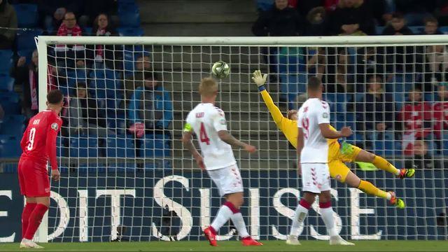 Gr.B, Suisse - Danemark (2-0): 66e, magnifique but de Xhaka [RTS]