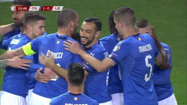 Gr.J, Italie - Liechtenstein (6-0): le résumé du match [RTS]